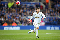 Alberto Palosch of Swansea City during the Barclays Premier League match between Leicester City and Swansea City played at The King Power Stadium, Leicester on April 24th 2016