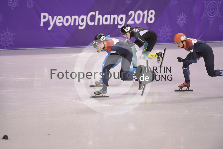 OLYMPIC GAMES: PYEONGCHANG: 17-02-2018, Gangneung Ice Arena, Short Track, ©photo Martin de Jong