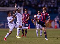 SAN PEDRO SULA, HONDURAS - SEPTEMBER 8: Josh Sargent #9 of the United States controls the ball during a game between Honduras and USMNT at Estadio Olímpico Metropolitano on September 8, 2021 in San Pedro Sula, Honduras.