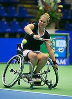 19-12-13,Netherlands, Rotterdam,  Topsportcentrum, Tennis Masters,   Michaela Spaanstra(NED)    <br /> Photo: Henk Koster