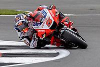 28th August 2021; Silverstone Circuit, Silverstone, Northamptonshire, England; MotoGP British Grand Prix, Qualifying Day; Pramac Racing Team rider Johann Zarco on his Ducati Desmosedici GP21