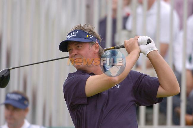 July 6th, 2006. Smurfit European Open, The K Club, Straffan, County Kildare..Ireland's Darren Clarke at the above..Photo: BARRY CRONIN/Newsfile..(Photo credit should read BARRY CRONIN/NEWSFILE).