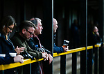 A pint on the terrace. Hucknall Town v Heanor Town, 17th October 2020, at the Watnall Road Ground, East Midlands Counties League. Photo by Paul Thompson.