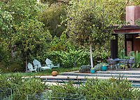 Coyote House, SITES® residential home with sustainable garden Santa Barbara California, Susan Van Atta design