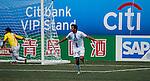 Yau Yee League Select vs HKFC Captain's Select during the Day 3 of the HKFC Citibank Soccer Sevens 2014 on May 25, 2014 at the Hong Kong Football Club in Hong Kong, China. Photo by Xaume Olleros / Power Sport Images
