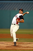 Joshua Collmenter  ---  At the annual California League-Carolina League all-star game at the Diamond in Lake Elsinore, CA - 06/23/2009. The game was won by the California League, 2-1, on a walk-off homerun by Lancaster's Jon Gaston..Photo by:  Bill Mitchell/Four Seam Images