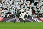 Real Madrid's Vinicius Jr. and Real Sociedad's Diego Javier Llorente during La Liga match between Real Madrid and Real Sociedad at Santiago Bernabeu Stadium in Madrid, Spain. January 06, 2019. (ALTERPHOTOS/A. Perez Meca)<br />  (ALTERPHOTOS/A. Perez Meca)