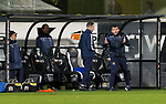Dunfermline v St Johnstone…15.12.20   East End Park      BetFred Cup<br />Saints boss Callum Davidson shouts instructions <br />Picture by Graeme Hart.<br />Copyright Perthshire Picture Agency<br />Tel: 01738 623350  Mobile: 07990 594431