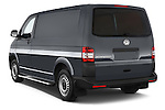 Car pictures of rear three quarter view of a 2015 Volkswagen Transporter 2.0 Tdi Bvm6 4 Door Cargo Van Angular Rear