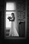 Suzanne and Phil<br /> September Wedding At Tarrytown House Highlights in Black and White