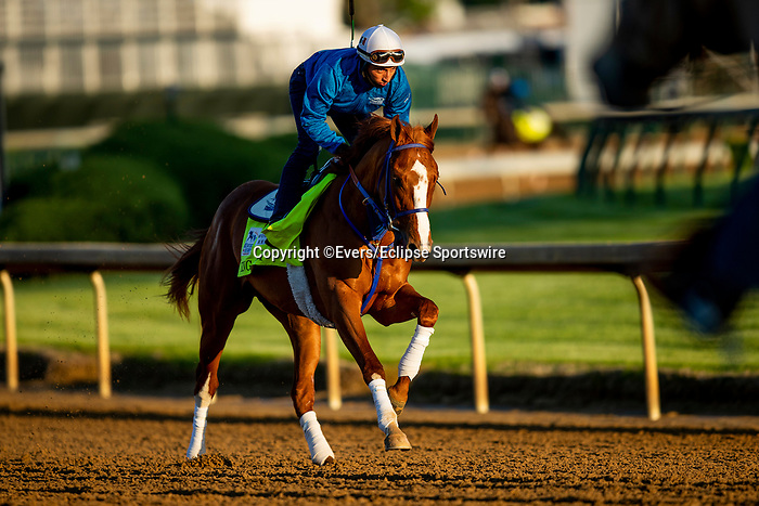 April 27, 2021:  King Fury gallops in preparation for the Kentucky Derby at Churchill Downs in Louisville, Kentucky on April 27, 2021. EversEclipse Sportswire/CSM