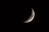 PHASES OF THE MOON<br /> Waxing Crescent