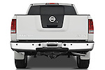 Straight rear view of a 2008 Nissan Titan