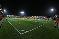 General view of the ground during Stevenage Youth vs Charlton Athletic Youth, FA Youth Cup Football at the Lamex Stadium on 15th November 2016