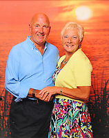 Pictured: Billy McCarley with wife Kath during their 40th wedding anniversary in 2012 <br /> Re: Billy McCarley who has recovered from  leukemia but he has also been locked in a bitter dispute with his phone provider True Telecom which keeps chasing him for money they say he owes.