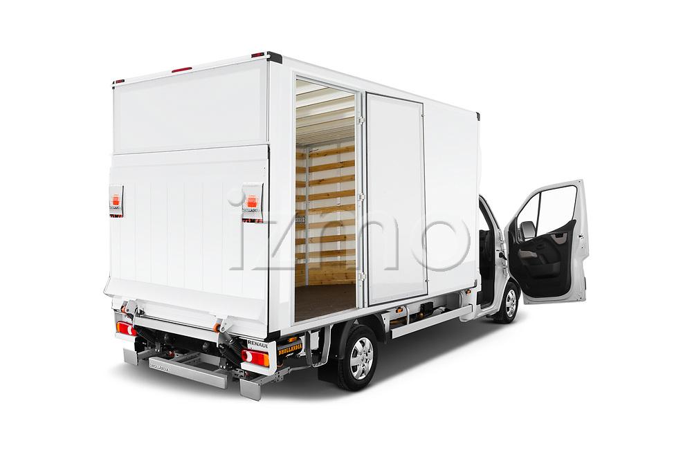 Car images close up view of a 2019 Renault Master Base 4 Door Cargo Van doors