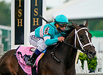 May 15, 2021: T D Dance, #8, ridden by jockey Javier Castellano, wins the James W. Murphy Stakes on Preakness Stakes Day at Pimlico Race Course in Baltimore, Maryland. John Voorhees/Eclipse Sportswire/CSM