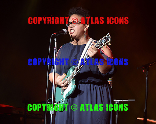 MIAMI BEACH, FL - DECEMBER 4: Brittany Howard of Alabama Shakes performs at Fillmore Miami Beach on December 4, 2013 in Miami Beach, Florida.Credit Larry Marano (C) 2013