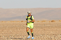 4th October 2021; Tisserdimine to Kourci Dial Zaid;  Marathon des Sables, stage 2 of  a six-day, 251 km ultramarathon, which is approximately the distance of six regular marathons. The longest single stage is 91 km long. This multiday race is held every year in southern Morocco, in the Sahara Desert. Merile Robert (FRA)