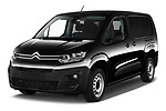 2020 Citroen Berlingo - 4 Door Car Van Angular Front automotive stock photos of front three quarter view