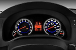 Instrument panel close up detail view of a 2009 Infiniti G37 S Sedan