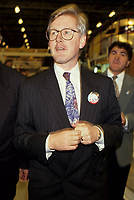 1992 file photo <br /> Bob Rae seen in a 1992 File Photo taken during the Referendum on Canadian Unity (when he was Ontario Premier)<br /> Rae joined the Liberal Party Leadership race to replace Paul Martin <br /> Photo : (c) 1992 Pierre Roussel