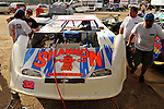 Feb 11, 2009; 4:03:50 PM; Barberville, FL, USA; UMP DIRTcar Racing Series for the 38th Annual ALLTEL DIRTcar Nationals by UNOH at Volusia Speedway Park.  Mandatory Credit: (thesportswire.net)