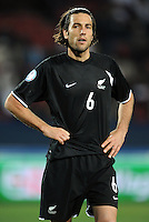 Ivan Vicelich of New Zealand. Iraq and New Zealand tied 0-0 during the FIFA Confederations Cup at Ellis Park Stadium in Johannesburg, South Africa on June 20, 2009..