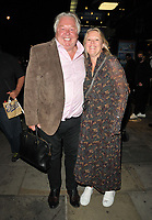 """Nick Ferrari and partner at the """"Back to the Future The Musical"""" press night, Adelphi Theatre, The Strand, on Monday 13th September 2021 in Londomn, England, UK. <br /> CAP/CAN<br /> ©CAN/Capital Pictures"""