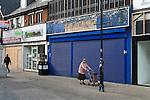 RECESSION UK 2008 2009 2010s  SHOPS PUBS CLOSED DOWN