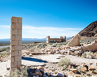 Rhyolite school was a big two-story eight room building
