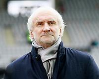 Rudi VOELLER (VOELLER), Sportdirekgoal Bayer Leverkusen,  Portraet,   Fussball, 1. Bundesliga  2017/2018<br /> <br />  <br /> Football: Germany, 1. Bundesliga, SC Freiburg vs Bayer 04 Leverkusen, Freiburg, 03.02.2018 *** Local Caption *** © pixathlon<br /> Contact: +49-40-22 63 02 60 , info@pixathlon.de