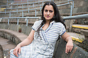 Birmingham, UK. 12.05.2014. Choreographer and Kathak dancer, Sonia Sabri, at the MAC (Midlands Arts Centre), where she is Associate Artist. Photograph © Jane Hobson.
