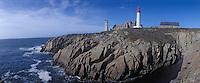 Europe/France/Bretagne/29/Finistère/Pointe Saint Mathieu: Le phare, l'abbaye et le sémaphore