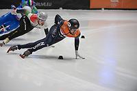 SPEEDSKATING: DORDRECHT: 08-03-2021, ISU World Short Track Speedskating Championships, Final A 5000m Relay, Daan Breeuwsma (NED), ©photo Martin de Jong