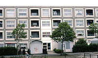 Rotterdam: De Peperklip--elevation. 1980. Photo '87.