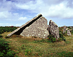 Zennor Quoit, Zennor Cornwall. Celtic Britain published by Orion. A Neolithic tomb now ruinous, in use at least 1,500 BC.