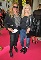 """Lize McCarron and Jo Wood at the """"Tina: The Tina Turner Musical"""" Refuge gala performance, Aldwych Theatre, Aldwych, on Sunday 10th October 2021, in London, England, UK. <br /> CAP/CAN<br /> ©CAN/Capital Pictures"""