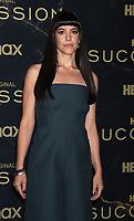 """October 12, 2021. Zoe Winters  attend HBO's """"Succession"""" Season 3 Premiere at the  American Museum of Natural History in New York October 12, 2021 Credit: RW/MediaPunch"""