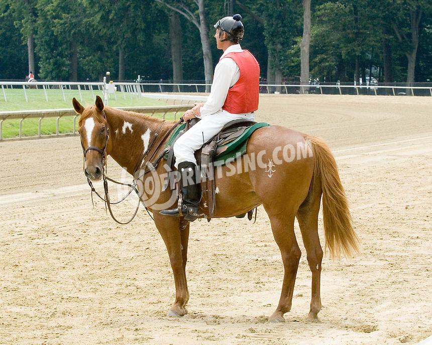 Lance at Delaware Park on 7/20/09