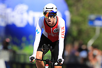 9th September 2021; Trento, Trentino–Alto Adige, Italy: 2021 UEC Road European Cycling Championships, Womens Individual time trials:  Lisa Brennauer (Germany) who took rd place
