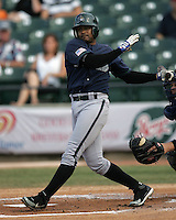 New Orleans Zephyrs Fernando Tatis during the 2007 Pacific Coast League Season. Photo by Andrew Woolley/ Four Seam Images.