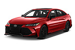 2020 Toyota Avalon TRD 4 Door Sedan Angular Front automotive stock photos of front three quarter view