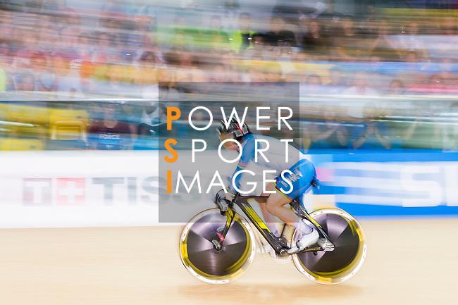 Lee Wai Sze of Hong Kong competes on Women's 500 TT Finals during the 2017 UCI Track Cycling World Championships on 15 April 2017, in Hong Kong Velodrome, Hong Kong, China. Photo by Marcio Rodrigo Machado / Power Sport Images