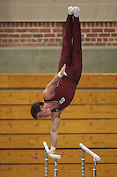 STANFORD, CA - JANUARY 9:  Ryan Lieberman of the Stanford Cardinal during Stanford's Cardinal vs. White intrasquad exhibition match on January 9, 2009 at Burnham Pavilion in Stanford, California.