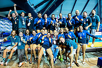 Pro Recco Winner LEN Champions league 2021 <br /> Pro Recco (white caps) -FTC Budapest (green caps)<br /> Final 5th-6th place<br /> LEN Men's Water Polo Champions League Final Eight 2021<br /> 11 april sport centre - Novi Beograd  -Serbia <br /> 20210605<br /> Photo Giorgio Scala / Deepbluemedia / Insidefoto<br /> DBM/LEN Reserved Rights <br /> Author must be mentioned when published<br /> Editorial/media use only