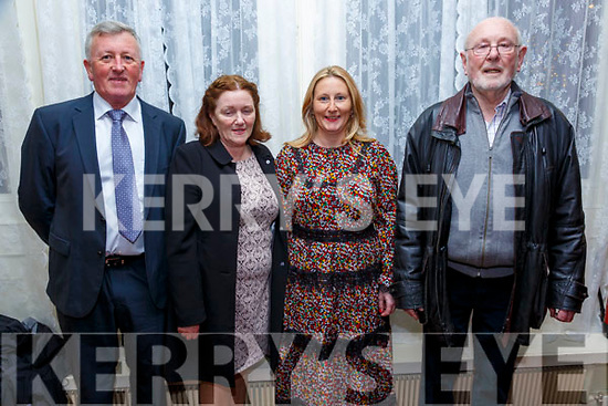 Parish Social : Pictured at the Listowel Parish Social at the Listowel Arms Hotel on Saturday nigh last were Pat Carmody, Kathleen  McDonell, Bernie McEneany & Frank Greaney.