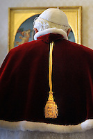 Pope Benedict XVI private library at the Vatican,Jan. 23, 2009.