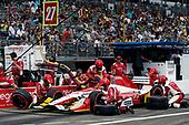 2017 Verizon IndyCar Series - Firestone Grand Prix of St. Petersburg<br /> St. Petersburg, FL USA<br /> Sunday 12 March 2017<br /> Marco Andretti pit stop<br /> World Copyright:Sam Cobb/LAT Images<br /> ref: Digital Image cobb-stpete-170312-4447