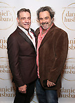 """Lou Liberatore and Christopher Scott during the Opening Night Celebration for """"Daniel's Husband"""" at the West Bank on October 28, 2018 in New York City."""